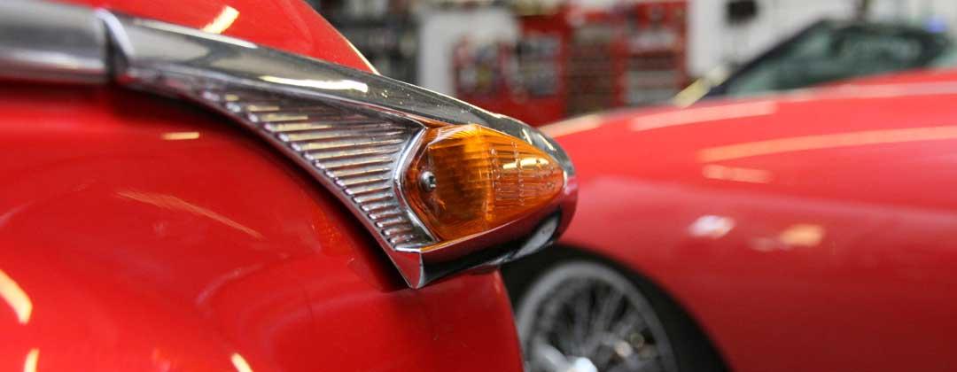 Triumph TR5 Indicator Light
